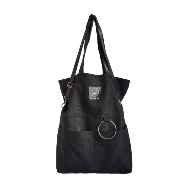 Czarna torba miejska City Nosie