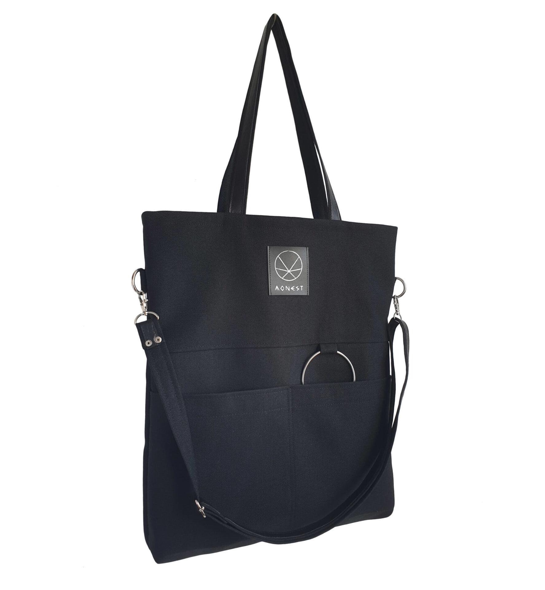 c582dcddfd41e Czarna torba City Noise - idealna na miejskie wycieczki, trening i ...